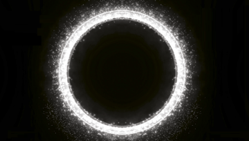 Circle with black background v6